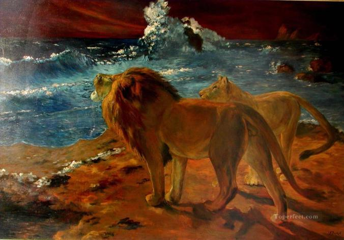 4-lions-at-seaside